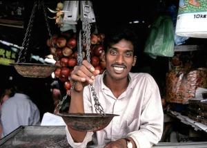 Sri Lanka Seller Happy Person Shopkeeper Man